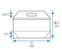 フラットバッグ規格図