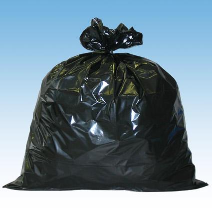 黒ゴミ袋イメージ