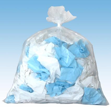 透明ゴミ袋イメージ