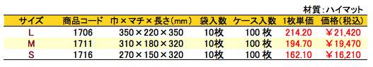 パールバッグ アミー シーブルー 価格表(ケース単位)