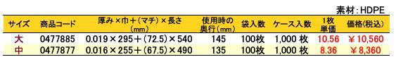 イージーバッグバイオ25水玉柄 価格表