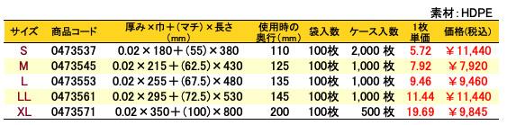 イージーバッグバイオ25シルバー 価格表