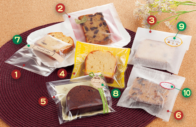 お菓子用 パウンドケーキ