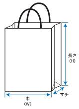 紙袋手提袋規格図