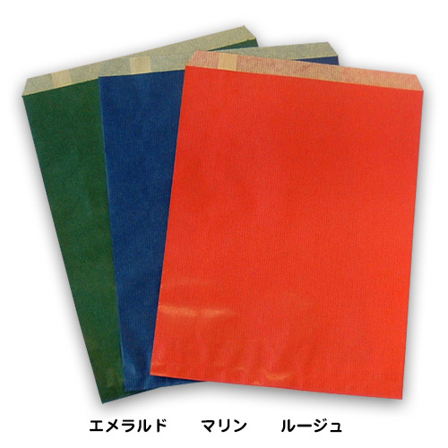 紙平袋_フラット3カラー
