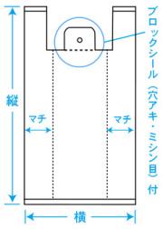 レジ袋規格図