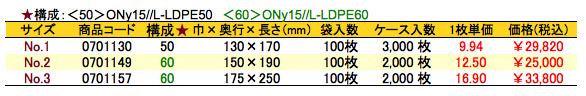 レンジシール_FKタイプ価格表