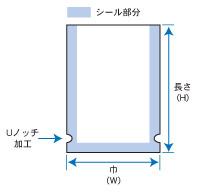 ナイロンポリF規格図
