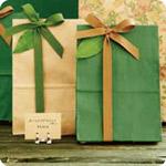 パッケージ 紙袋&包装紙