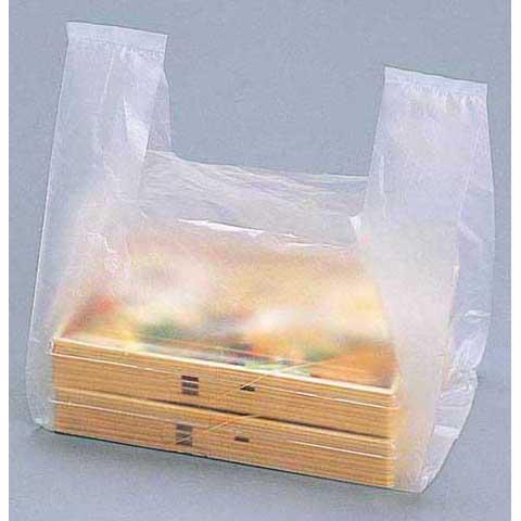 レジ袋半透明弁当イメージ