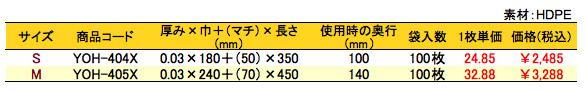 レジ袋 ハロウィン 価格表(小ロット販売)