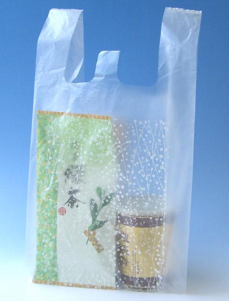 レジ袋かすみ草イメージ