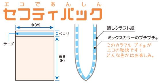 セフティパック 規格図