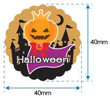 ラベルシール GY-183 Halloween