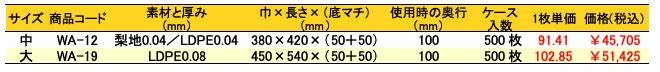 ショルダーバッグ ホリデーバッグ 片リュック ホワイト 価格表(ケース単位)