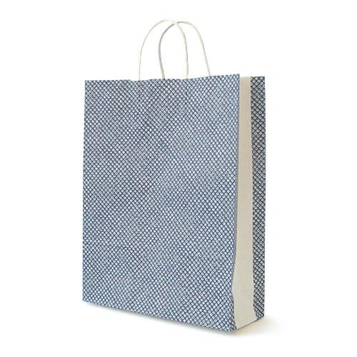 手提げ紙袋 シボリ