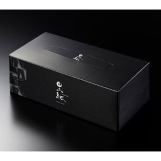 ティッシュ_7111黒紙BOX