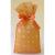 不織布巾着袋リボン付 みずたまSオレンジ