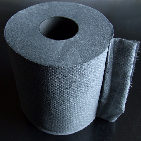 黒紙トイレットペーパー